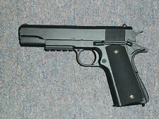 1911 A1 Black Tactical Replica Gun Movie Prop Walking Dead Action Prop Filming