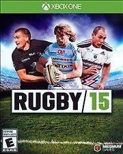 Rugby 15 USED SEALED (Microsoft Xbox One, 2015)