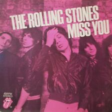 """ROLLING STONES - Miss You ~ 7"""" Single PS"""