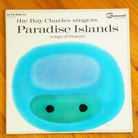 Paradise Islands Ray Charles Singers 1962 Record Album Art George Giusti VTG LP