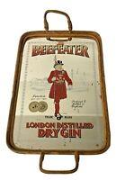Beefeater London Dry Gin Vassoio/Specchio Pubblicitario anni 70's