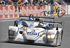 """Tom Kristensen SIGNED  12x8    Audi R8 ,  Le Mans 24hrs  2005   """" Winner """""""