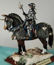 Chevalier Goth. - figurine Andrea 90mm Montée et peinte no Pegaso