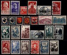 L'ANNÉE 1946 Complète, Oblitérés = Cote 19 € / Lot Timbres France