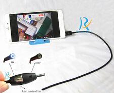 Phone PC 3.5M LED bulb waterproof mini spy hidden micro nanny pinhole camera CAM