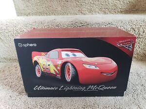 Rare Sphero Ultimate Lightning McQueen Disney - Pixar Cars Lights Sounds Motion