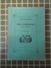 Annales Cercle Archéologique de Mons T42 1913 Bougnies; famille Strépy
