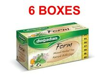 Dogadan Form Mixed Herbal Tea weight Loss(6 boxes / 120 teabags)