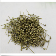 new!wholesale 5 color 100/ 500/1000pcs Copper Ball Head Pins Crafts Findings