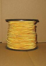 cordon elastique rond   ø 3mm JAUNE OR  vendu au mètre  ø 3mm
