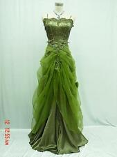Cherlone Satin Ball Prom Long Lace Sparkle Bridesmaid Wedding/Evening Gown Dress
