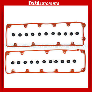 02-12 Ford Lincoln Mercury 4.6L 281 SOHC V8 Engine Valve Cover Gaskets, Grommets