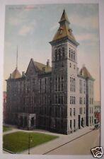 CITY HALL ROCHESTER, NEW YORK 1913 POSTCARD