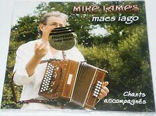 MIKE JAMES  MAES IAGO  CHANTS ACCOMPAGNES  CELTIQUE BRETON  CD NEUF  TRES RARE