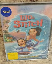 Lilo & Stitch (DVD) BRAND NEW! Disney animated kids movie hawaii alien Region 1
