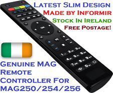 Genuine MAG Remote MAG250/254/256/322/410 New Slim Design Emigrantas TV
