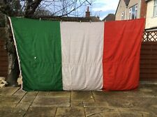 More details for italian national flag ensign wall art / display  360cm x 220cm ( 12ftx7ft )
