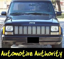 CHROME MESH GRILLE GRILL KIT For JEEP CHEROKEE 87 88 89 90 91 92 93 94 95