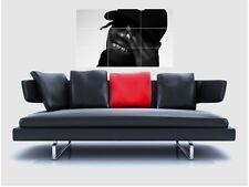 """TRAVIS SCOTT BORDERLESS MOSAIC TILE WALL POSTER 35""""x 25"""" RAPPER HIP HOP RAP"""