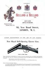 Holland & Holland c1924 Catalog