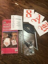 Vermont American Router Pantograph Kit 23450 Usa Withtemplates Letters Amp Numbers