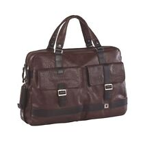 Piquadro Brown Wink Small sized briefcase, 2 gussets, two front f.. CA1906W37/TM