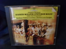 Johann Strauss-imperatore VALZER-Herbert di Karajan/Filarmonica di Berlino