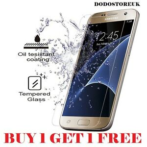 100% GENUINE  2.5D TEMPERED GLASS PRO+ FILM SCREEN PROTECTOR for SAMSUNG S7
