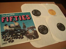 """""""Unforgettable Fifties"""" 4 LP Vinyl Record Set 1988 RCA Special Products/MCA MINT"""