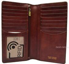 Mens Suit Wallet Leather RFID Luxury Quality Visconti Tuscany New in Box TSC45