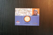 🌟 BARRY BONDS 2002 Fleer Platinum Game Used Bat Swatch /700 - Giants $25