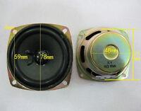2X New Neodymium magnet 8Ω 10W Full-range Audio Speaker Loudspeaker