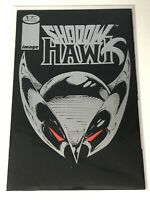 SHADOW HAWK #1 IMAGE COMICS WHO IS SILVER STAMPED FOIL COVER