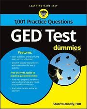 1,001 GED Practice Questions for Dummies by Consumer Dummies Staff (2017,...
