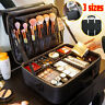 2/3 Tiers Large Capacity Travel Cosmetic Case Beauty Brush Organizer Makeup Bag