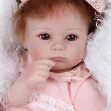 16 pouces 41 cm Silicone Reborn Toddler Bébé Poupée Fille Corps Boneca Avec P5I5