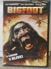 Bigfoot (DVD, 2012) RARE HORROR ACTION ALICE COOPER BRAND NEW