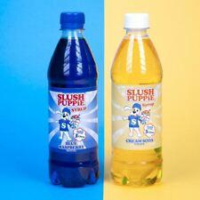 Slush Puppie Syrup 2 Pack Blue Raspberry & Cream Soda-New Flavour!