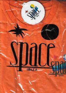 BNWT OFFICIAL Space Ibiza T-Shirt Orange XL RARE STOCK FIND VINTAGE