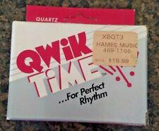 Qwik Time Quartz Metronome Qt3 Vintage 1995 Quiktime