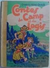 Contes de camp et du logis par C.H Dhacé SPES 1935 Scoutisme Scouts ill.Clérice