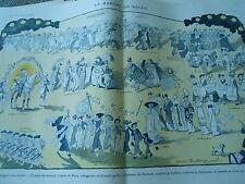 La Marche au Soleil Voltigeuses Garde Parnasse Zouaves Cythère Print Art 1913