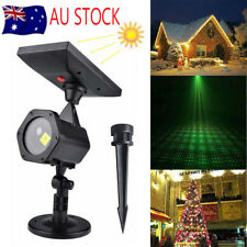 Waterproof Outdoor Christmas Lights Laser Solar Power Star Light Projector House