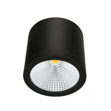 New Stock-Line Rasta 35W Dimmable Surface Mounted LED Downlight Black 160x120mm