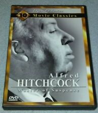 Alfred Hitchcock: Master of Suspense - 10 Movie Classics *RARE opp DVD