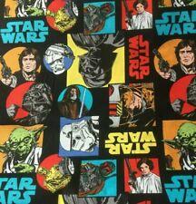 """Star Wars Fabric-Comics-1/2 Yard 18""""H x 42""""W-100% Cotton-Masks-Licensed"""
