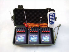 Wireless 12CH Fireworks Firing System+Remote with switch electric igniter party