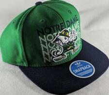 LZ Adidas Adult One Size OSFA Notre Dame Fighting Irish Baseball Hat Cap NEW D52