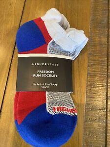higher state running socks Large