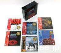 RUSH / JAPAN Mini LP SHM-CD x 6 titles + PROMO BOX (2112 BOX) Set!! NEW!!
